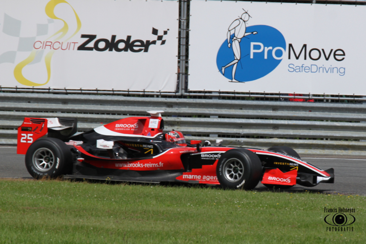 Formule 3 test op 11 april op Circuit Zolder